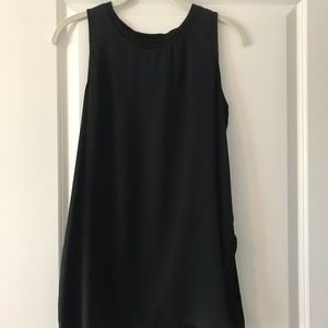 Who What Wear black evening tank size S